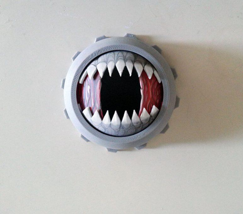 Изображение на Хелоуин от 3D печат: зъби за кутия на Венера
