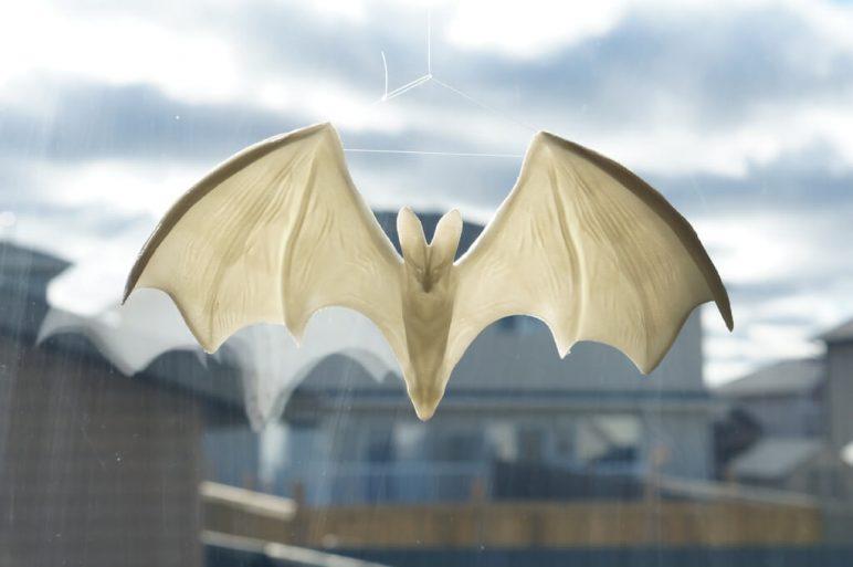 Изображение на Хелоуин за 3D печат: Призрачен прилеп