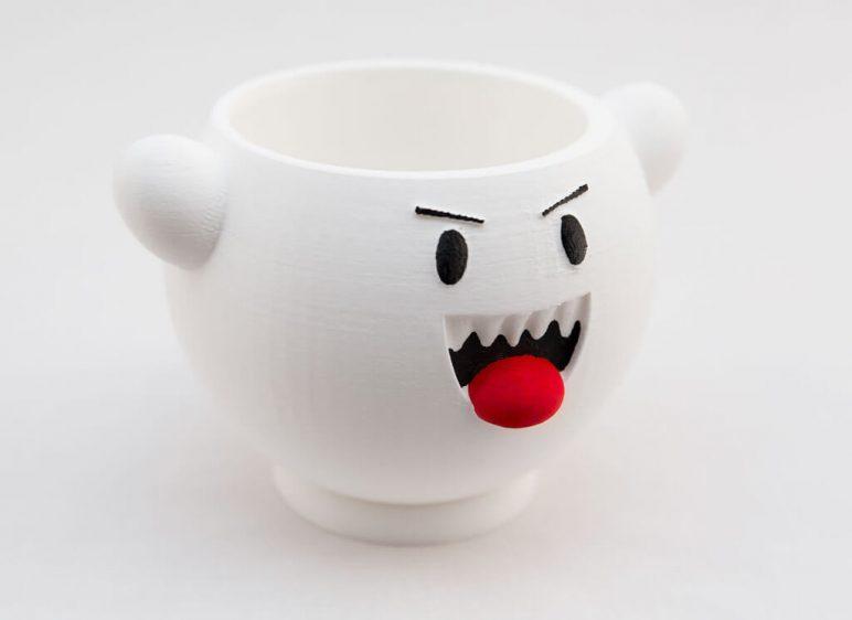 Изображение на Хелоуин за 3D печат: Марио Буу