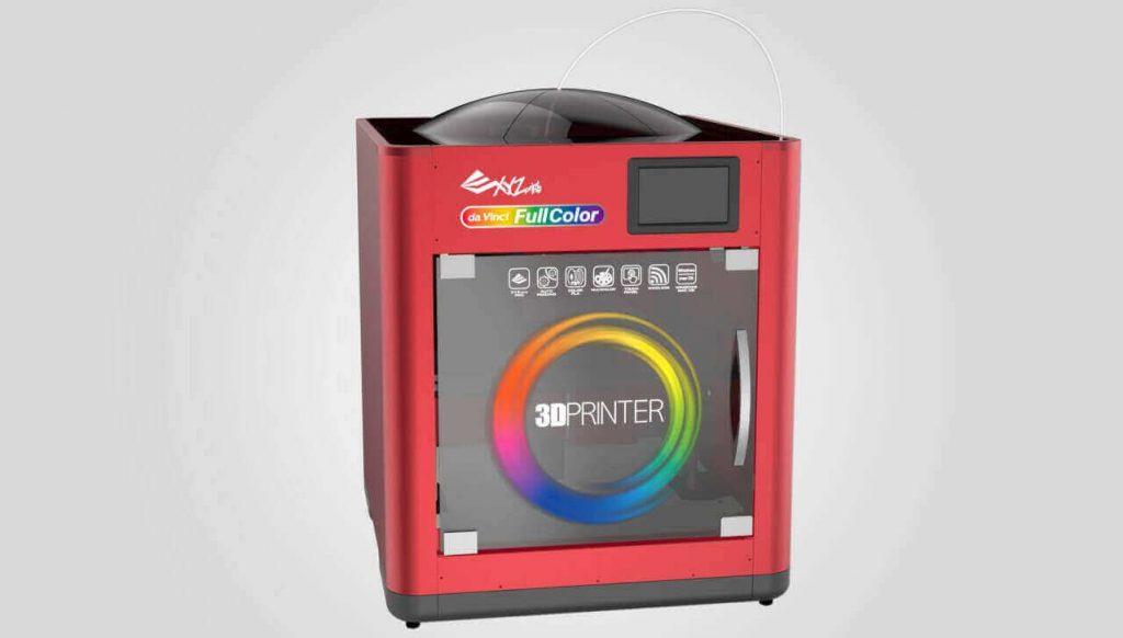 A full color desktop 3D printer