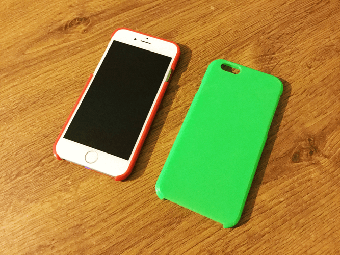 The 3D Printed iPhone cover in all its glory!