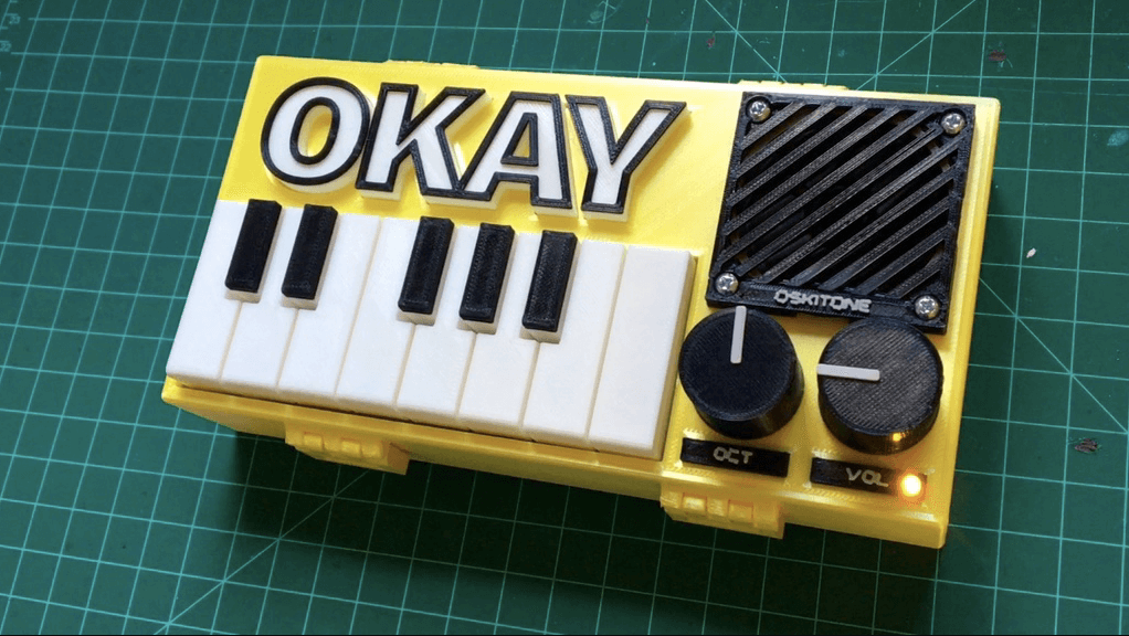 This DIY OKAY Synthesizer is Fully 3D Printed | All3DP