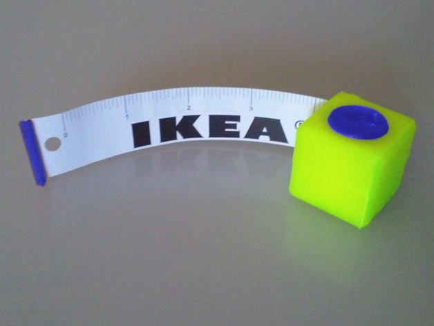 Image of 3D Printing Ideas – 30 Simple IKEA Hacks to 3D Print: Ikea Tape Measure