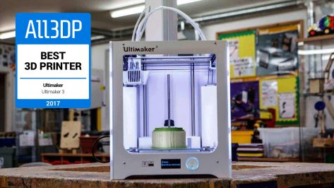 Featured image of Ultimaker 3 Review – Just the 2nd Best 3D Printer of Winter 2018