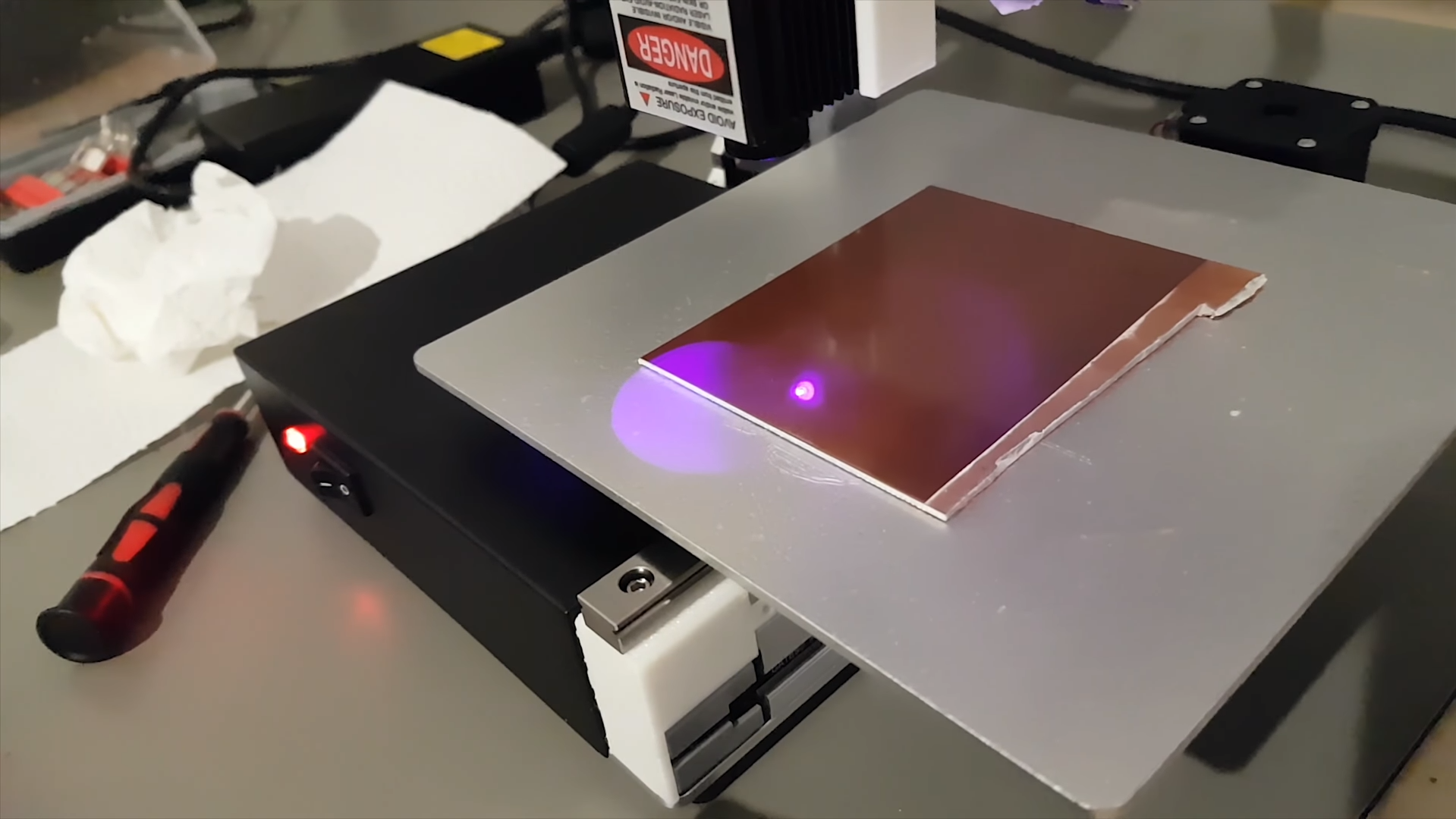 Budget 3D Printer Becomes PCB Etching Machine | All3DP