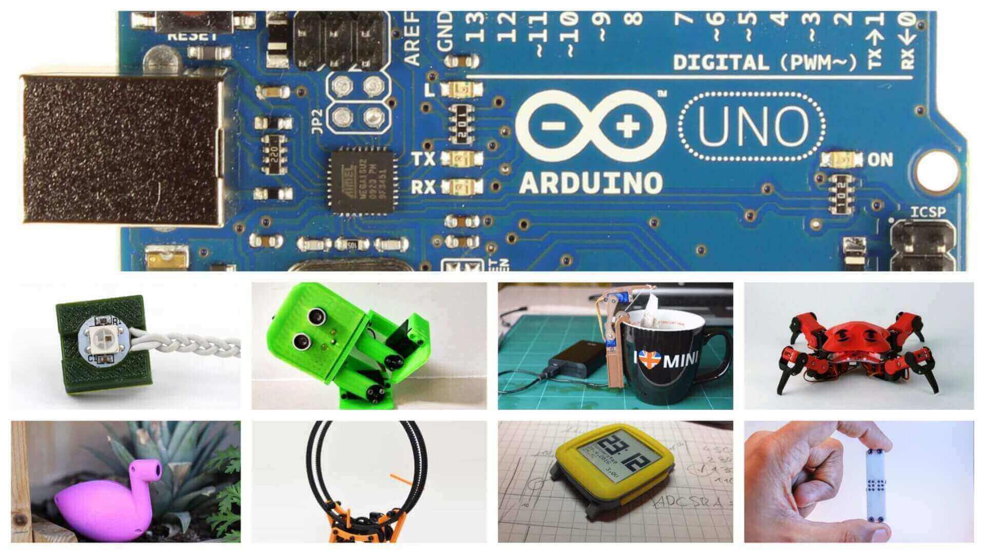 Los 30 mejores proyectos con Arduino para imprimir en 3D | All3DP