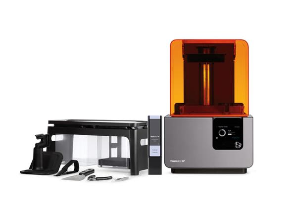 SLA 3D printers like the Formlabs Form 2 can be used to print the degradable biomaterials