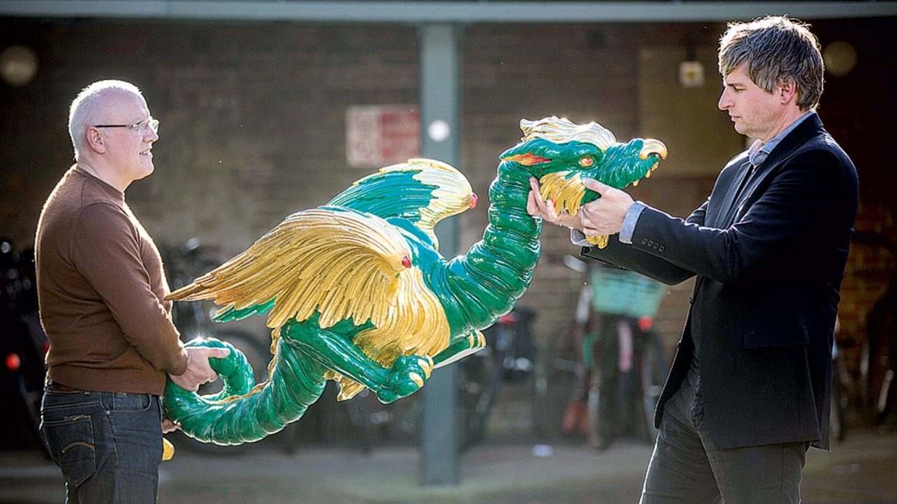 thanks to 3d printing chinoiserie dragons are returning to london s