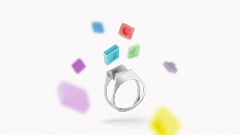 Design Duo Incorporates Nostalgia into 3D Printed Jewelry with LEGO Bricks | All3DP