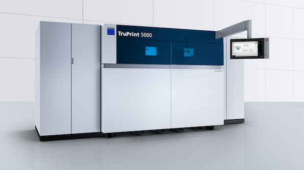 TRUMPF Unveils TruPrint 5000 Metal 3D Printer at Formnext 2017 | All3DP