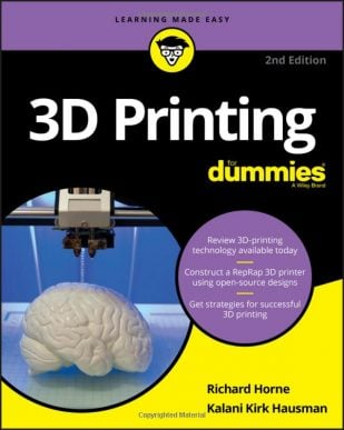 Product image of 3D Printing for Dummies
