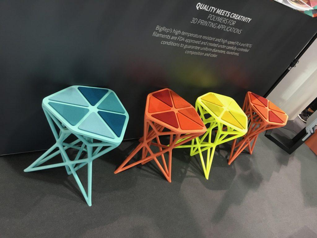 BASF BigRep 3D Printing materials