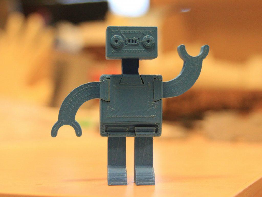 The Modular Toy Robot