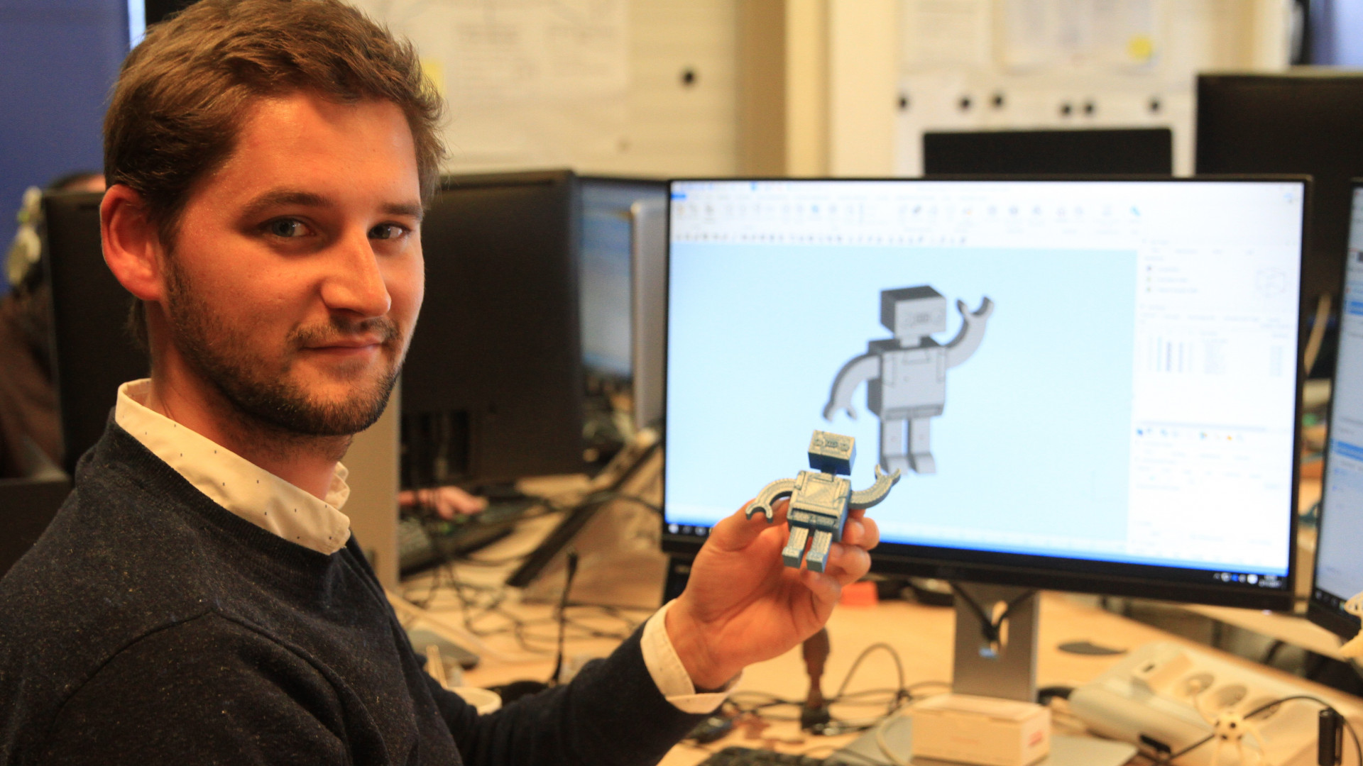 Materialise Presents 3D Printed Modular Toy Robot | All3DP