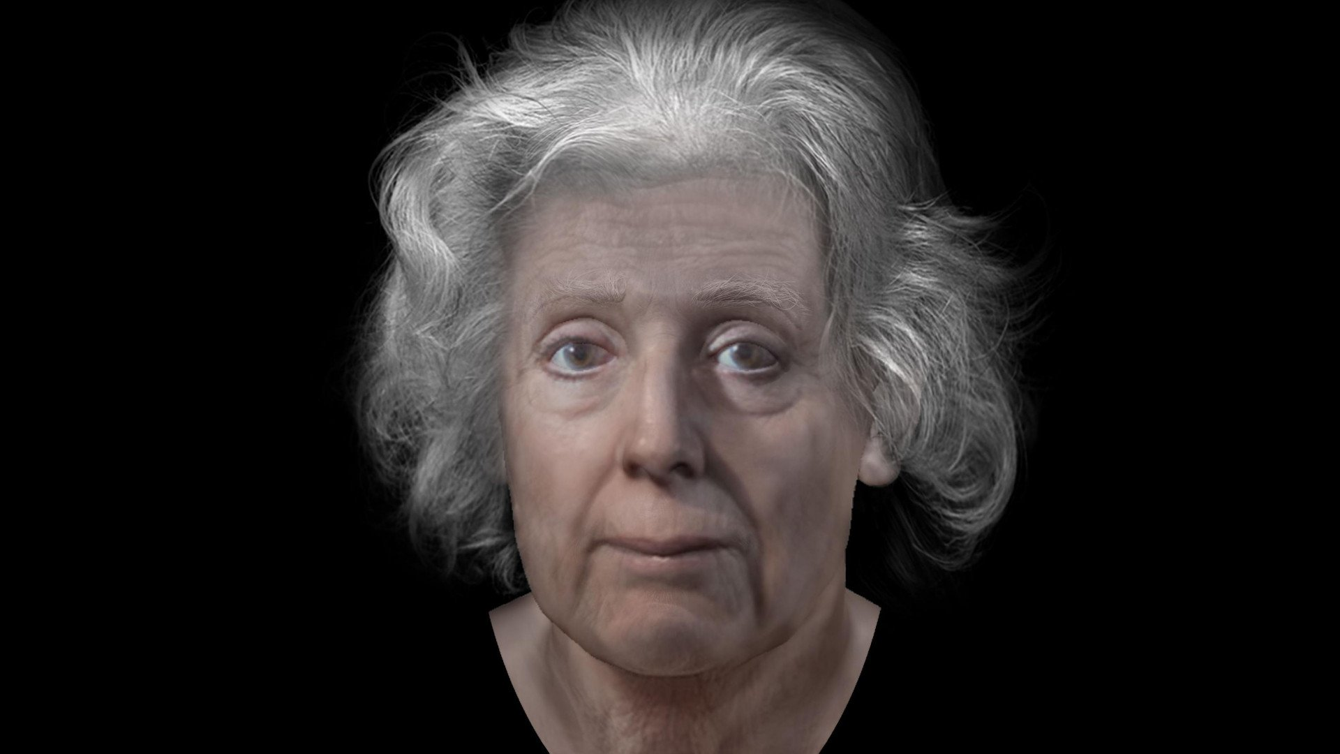 "Forensic Artist Uses 3D Virtual Sculpture to Reconstruct Scottish ""Witch's"" Face 