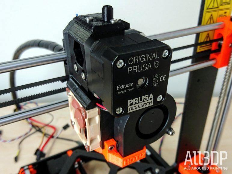 Image of Avis et test de l'Original Prusa i3 MK3: Assemblage de l'axe E