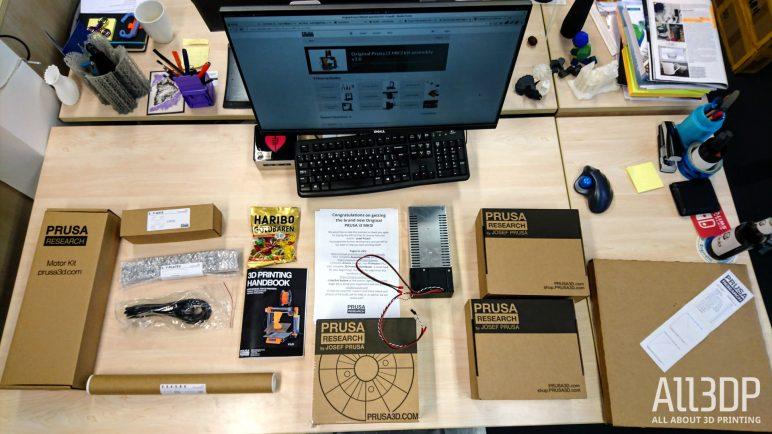 Image of Avis et test de l'Original Prusa i3 MK3: Unboxing