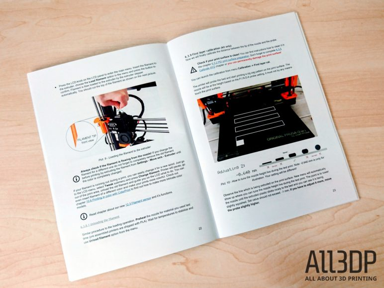 Image of Avis et test de l'Original Prusa i3 MK3: Calibrage