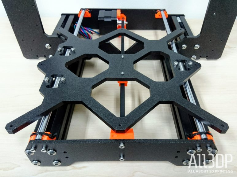 Image of Original Prusa i3 MK3 Review: Y-axis Assembly