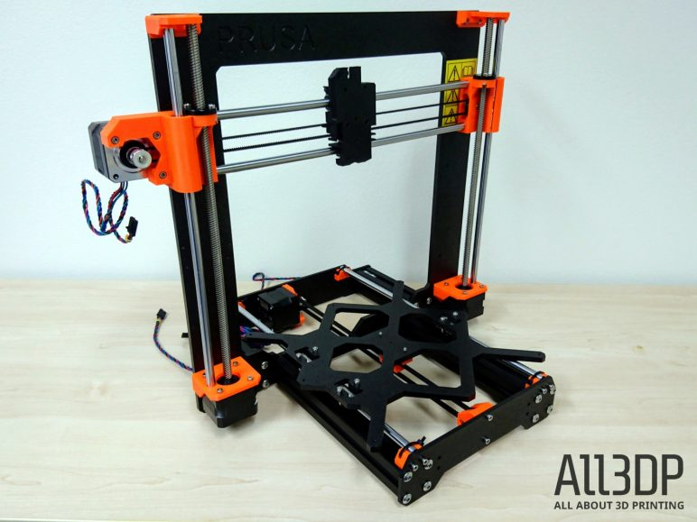 Image of Original Prusa i3 MK3 Review: Z-axis Assembly