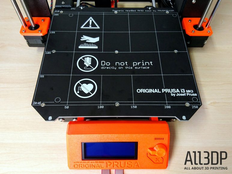 Image of Original Prusa i3 MK3 Review: Heatbed and PSU Assembly