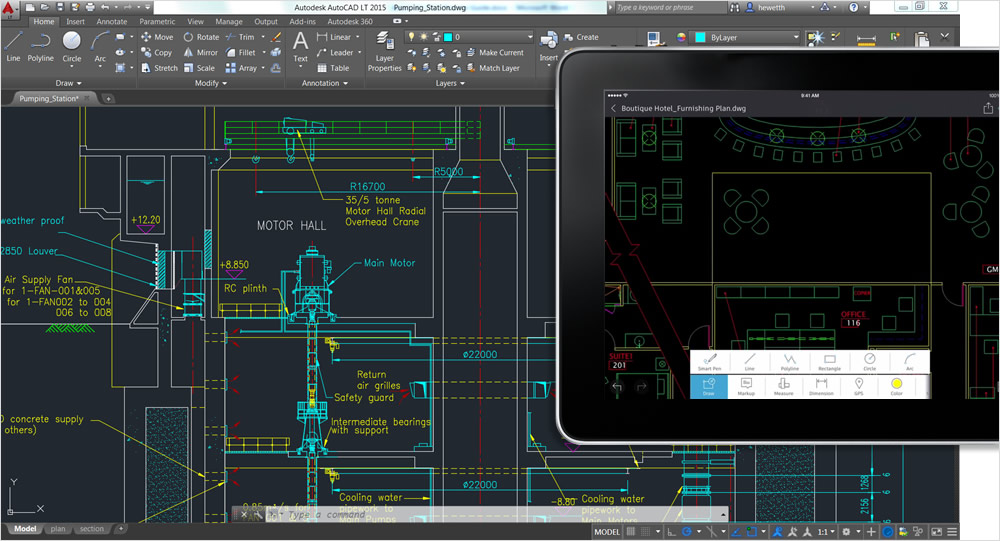 Autocad 360 en version gratuite