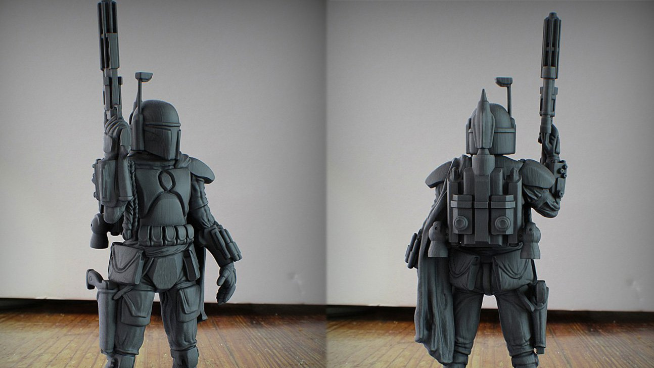 Say Pfft to The Last Jedi: 3D Print Your Own Boba Fett Instead | All3DP