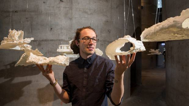 3D printed caves art Auckland