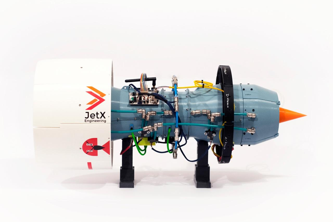 Engineering Students Create First Ever Working 3D Printed Jet Engine | All3DP
