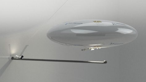 Featured image of Robotic Blimp to Explore Hidden Chambers of Great Pyramid