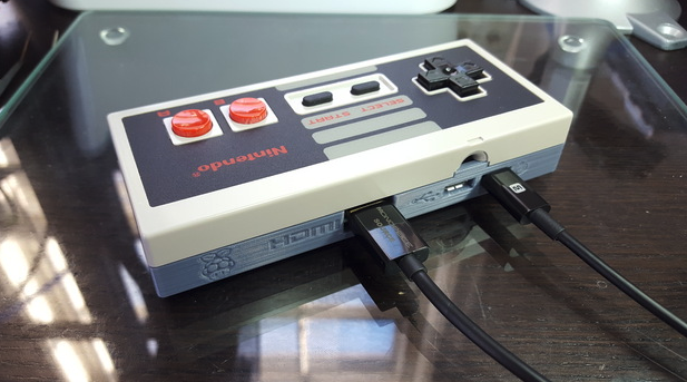 Image of RetroPie case: NES Controller (RetroPie Zero Case)