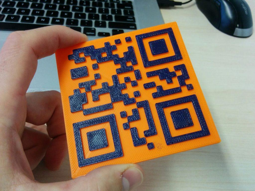 Redditor 3D Prints WiFi Password as a QR Code Coaster | All3DP