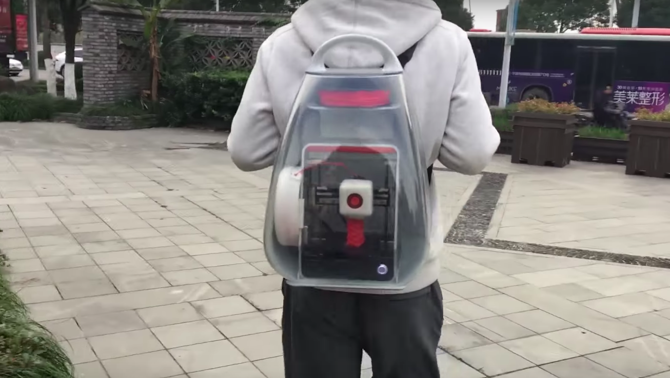 Carry On Printing: MakeX Teases 3D Printing Backpack | All3DP