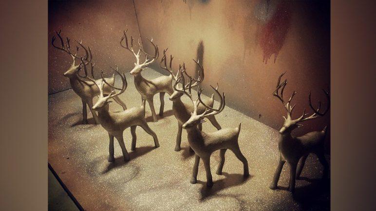 Image of 3D Printed Christmas Decorations: Holiday Christmas Deer