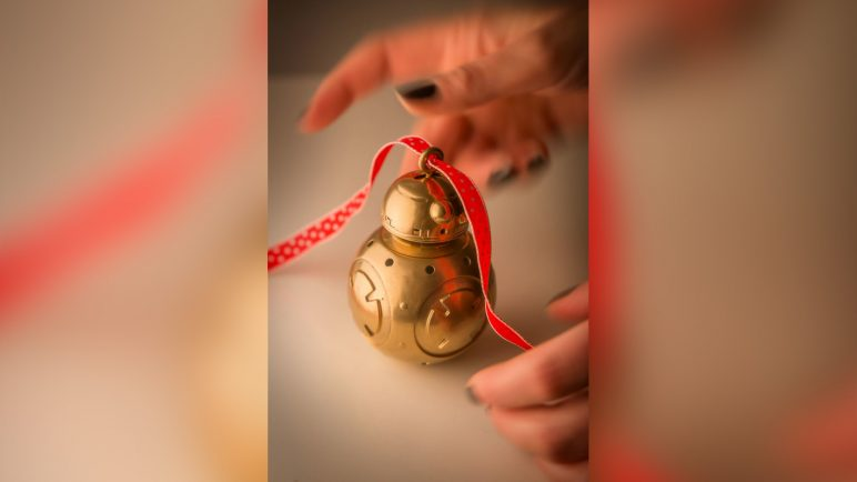 Image of 3D Printed Christmas Decorations: BB-8 Bauble