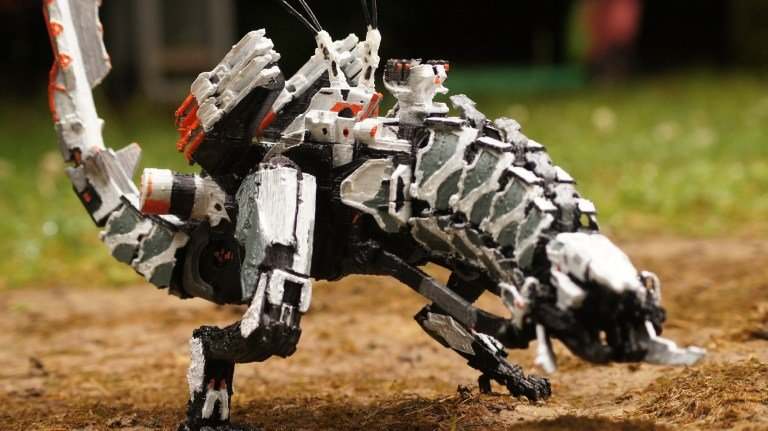 3d Print The Monstrous Machines From Quot Horizon Zero Dawn