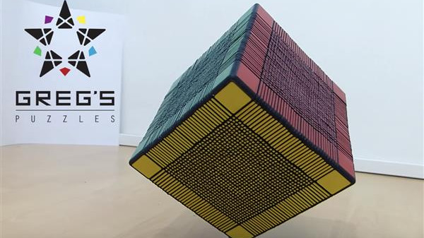 Ridiculous 33x33x33 Rubik's Cube Features Over 6,000 3D Printed Parts | All3DP