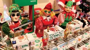 Featured image of Santa's Shop is a 3D Printed Storytelling Installation