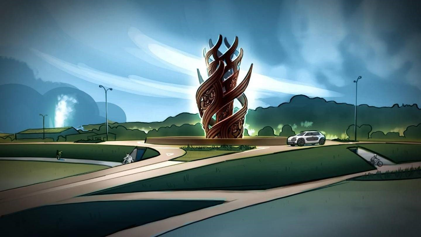 12-Meter Maori Sculpture to be 3D Printed in Rotorua, NZ | All3DP