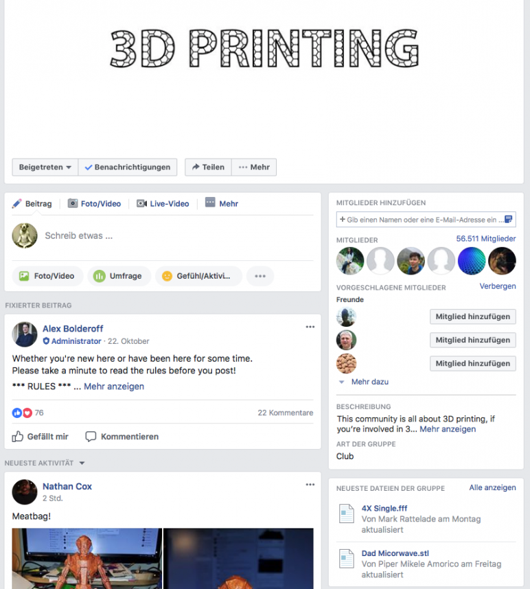 Image of 3D Printing for Beginners - First Steps: Join The Communities!