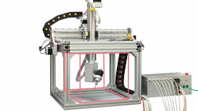 Image of Best All-In-One 3D Printer/Scanner/Laser Engraver/CNC Machines: 5AXISMAKER