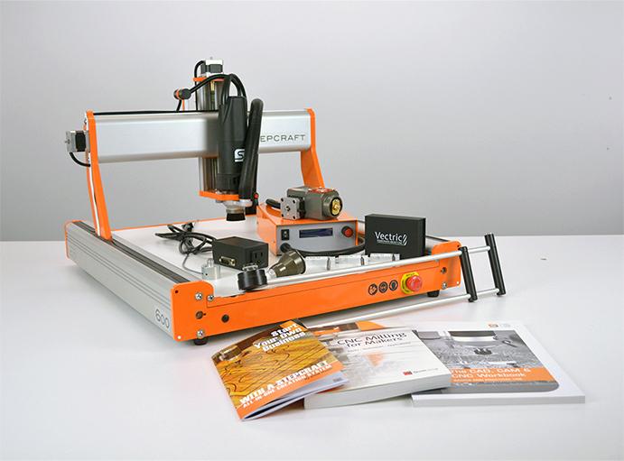 Image of Best All-In-One 3D Printer/Scanner/Laser Engraver/CNC Machines: Stepcraft 2