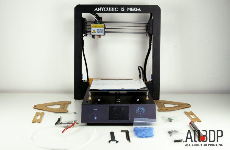 Image of Anycubic i3 Mega: test et avis: Unboxing