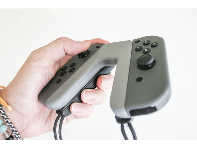 Image of Nintendo Switch Mods to 3D Print: Nintendo Switch Joy-Con Grip