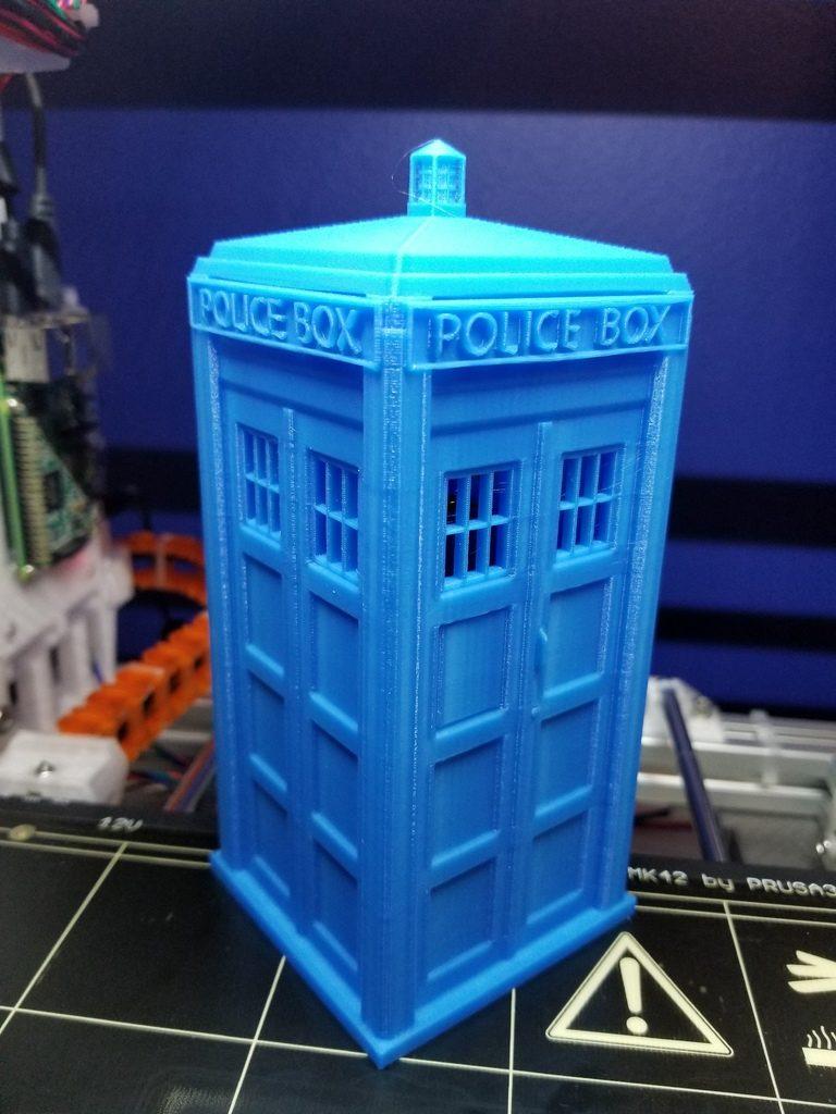 Image of Boîtier RaspberryPi3 à imprimer en 3D – Les 30 meilleurs modèles: Boîtier RaspberryPi3 TARDIS