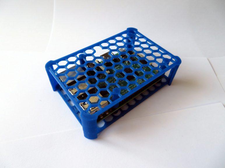 Image of Boîtier RaspberryPi3 à imprimer en 3D – Les 30 meilleurs modèles: Boîtier Quick RaspberryPi