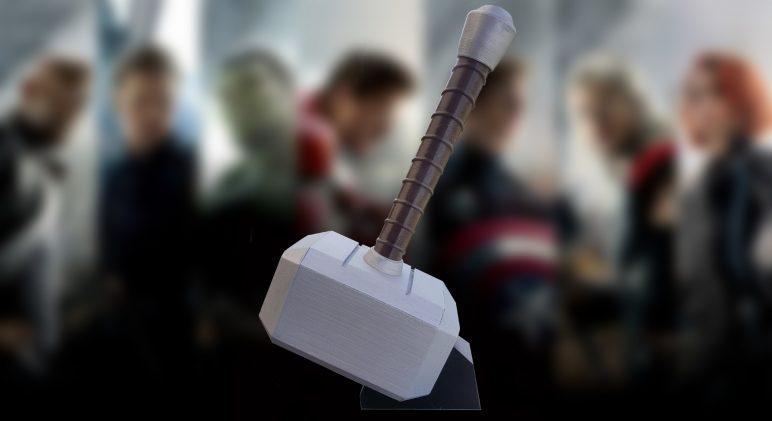 Image of Boîtier RaspberryPi3 à imprimer en 3D – Les 30 meilleurs modèles: Le marteau de Thor