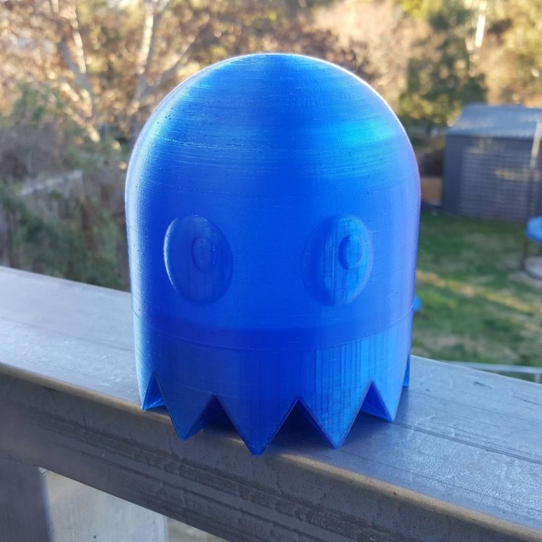 Image of Boîtier RaspberryPi3 à imprimer en 3D – Les 30 meilleurs modèles: Fantôme Pac-man