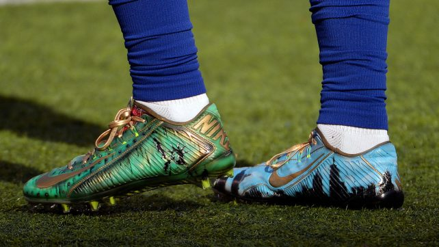 Featured image of NFL Uses HP 3D Scanning Technology to Create Customized Cleats for Players