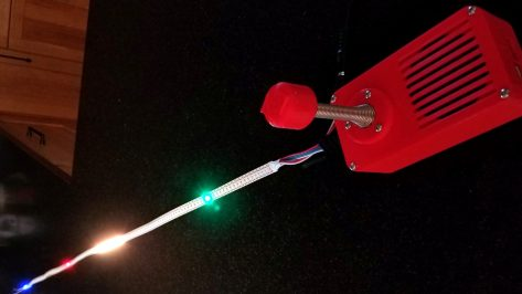 Featured image of TWANG is a 1D Arduino Based Dungeon Crawler